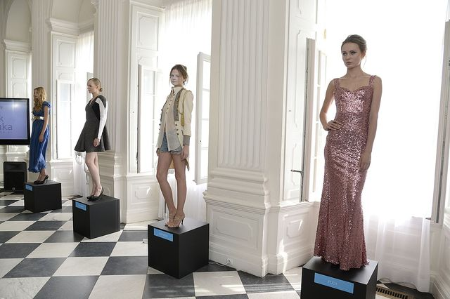 Kaja �r�dka na konferencji Sopot Art&Fashion Week