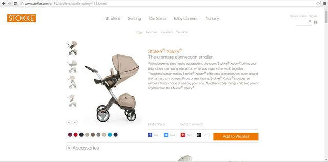 Kaja Śródka chwali się dzieckiem i drogim wózkiem (FOTO)