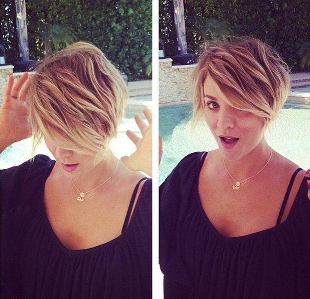 Kaley Cuoco jeszcze bardziej skróciła włosy (FOTO)