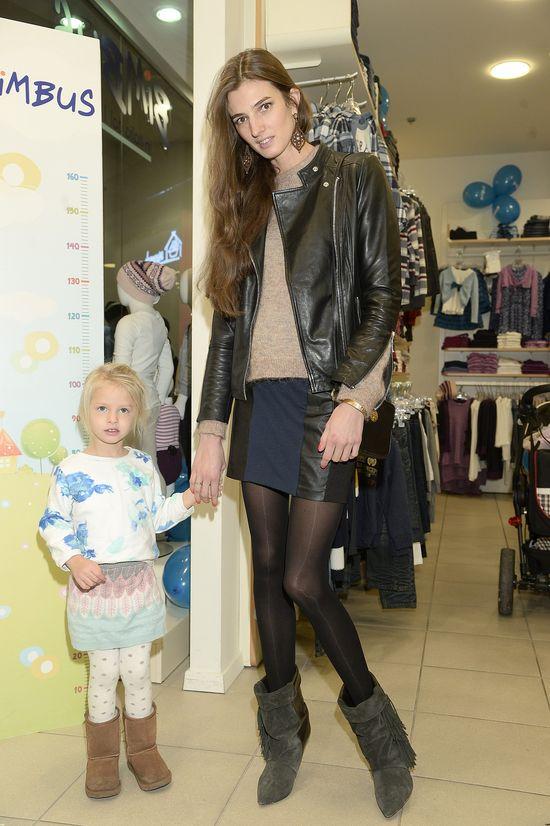 Modra i Szczawińska zabrały córki na salony (FOTO)