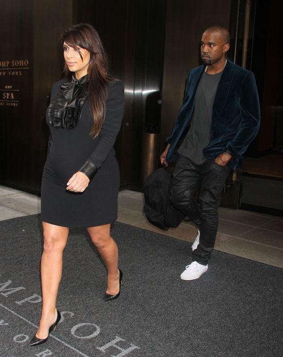 Nowe informacje o zdjęciach dziecka Kim Kardashian