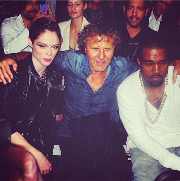 Kanye West na NY Fashion Week bawił się z pewną modelką...