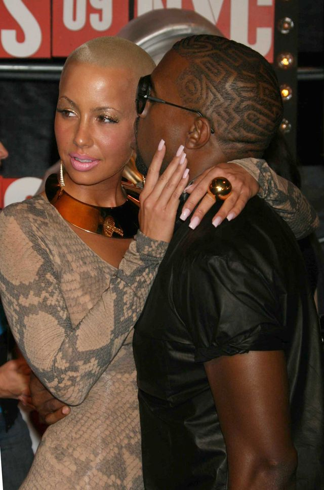 Amber Rose szerze o rozstaniu z Kanye Westem
