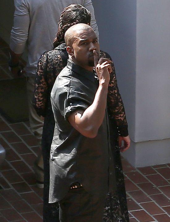 Kanye West nie chce być obecny przy porodzie Kim