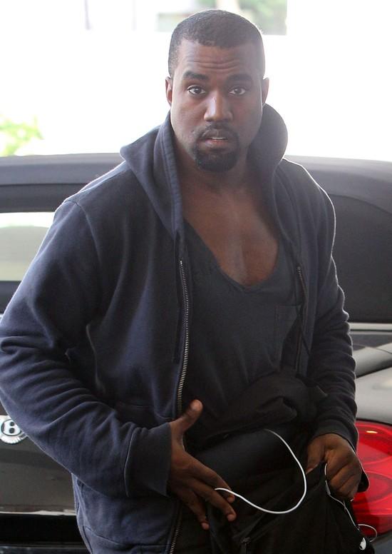 Kanye West zdradził imię dziecka jego i Kim Kardashian?