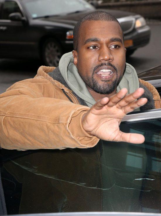 Kim i Kanye ju� si� k��c� po porodzie!