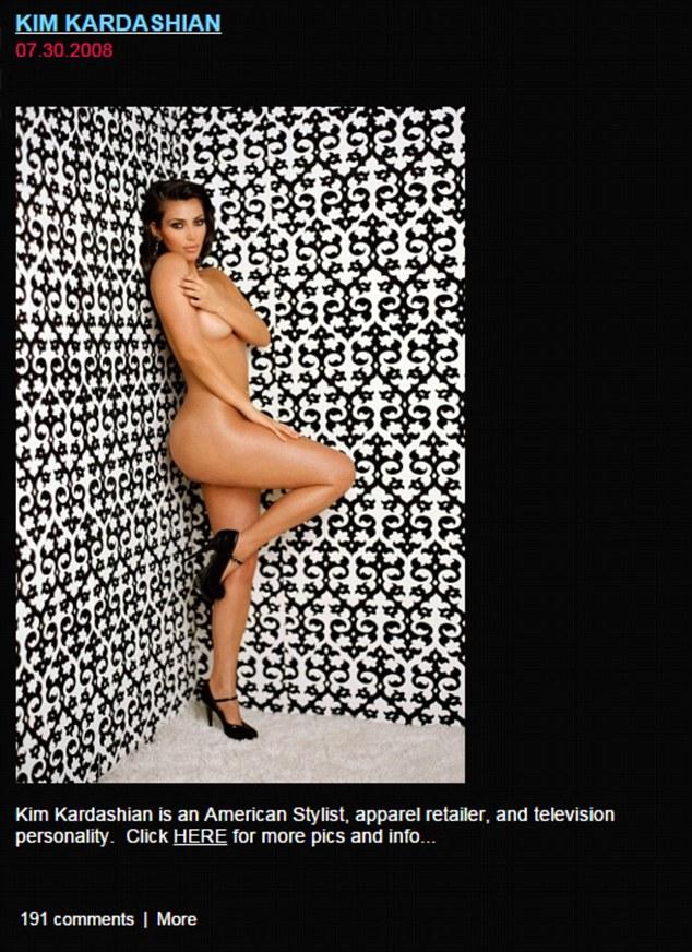 Kanye West miał oko na Kim już w 2008 roku (FOTO)