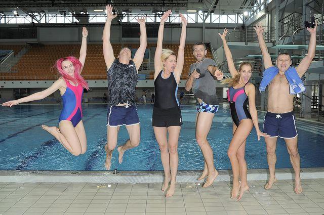 Gwiazdy ostro trenują do Celebrity Splash (FOTO)