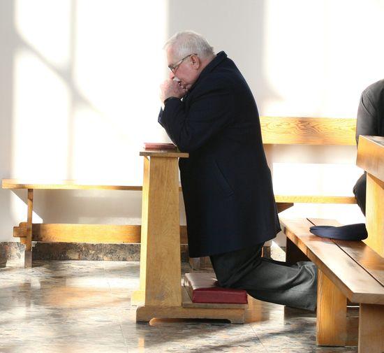 Wzruszające słowa Lecha Wałęsy na temat śmierci syna