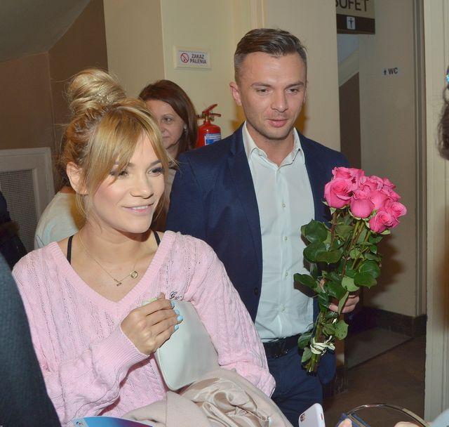 Fuj! Maja Bohosiewicz dostała tort w kształcie... rodzącego się dziecka