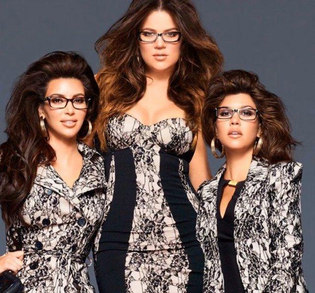 Kardashianki w okularach (FOTO)