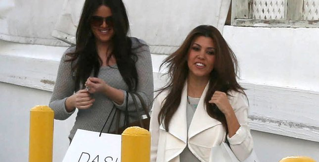 Khloe i Kourtney Kardashian na zakupach (FOTO)