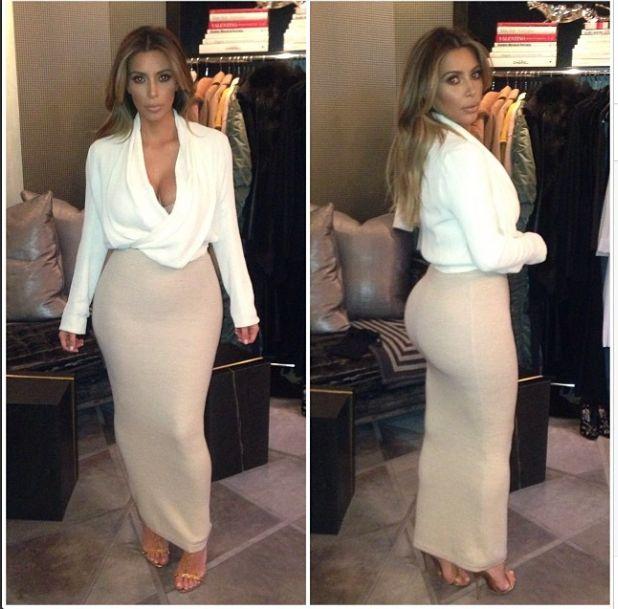 Kim Kardashian przefarbowa�a w�osy! (FOTO)