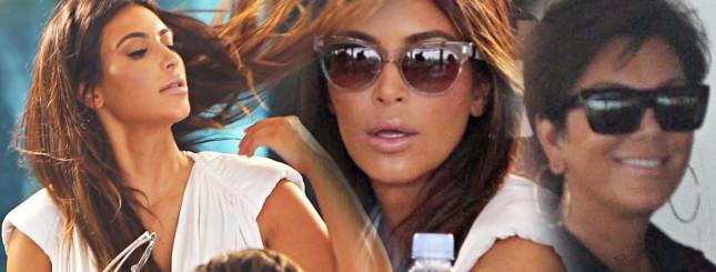 Kardashianowie – kolacja w towarzystwie kamer (FOTO)