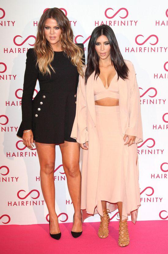 Kim kontra Khloe Kardashian - pojedynek sióstr (FOTO)