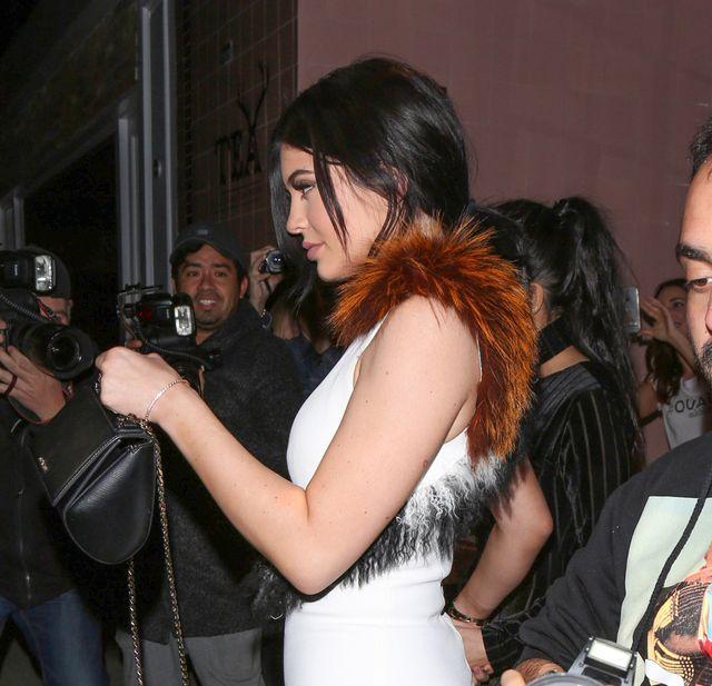 Najmłodsza i najstarsza - czyli Kardashianki na imprezie