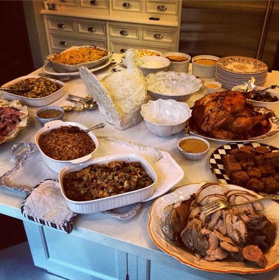 Jak gwiazdy spędziły Święto Dziękczynienia? (FOTO)