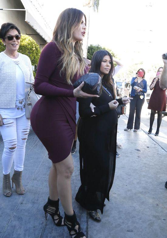 Tymczasem w rodzinie Kardashianów... (FOTO)