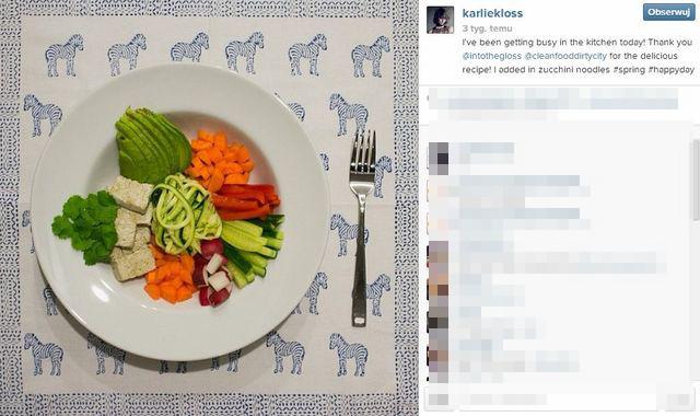 Na jakiej diecie jest Karlie Kloss? (FOTO)