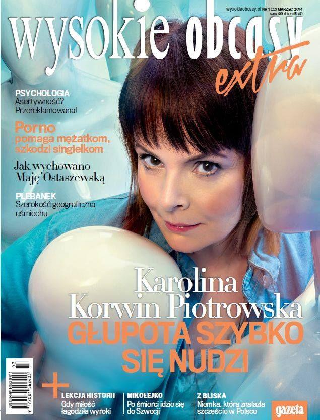 Karolina Korwin Piotrowska napisała książkę - Ćwiartka raz