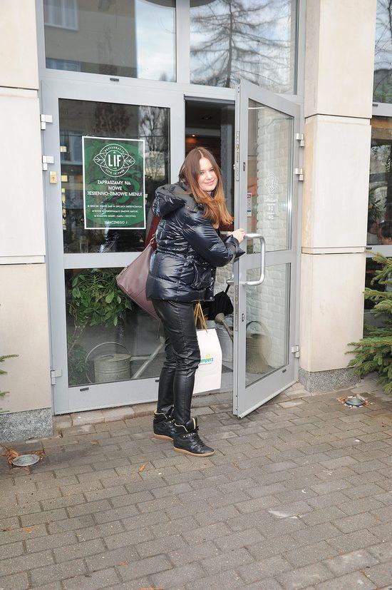 Malinowska nie wstydzi się, że robi zakupy w Biedronce