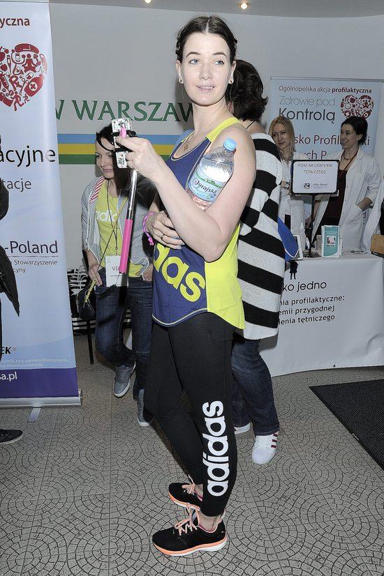 Karolina Malinowska wyciska z siebie siódme poty (FOTO)