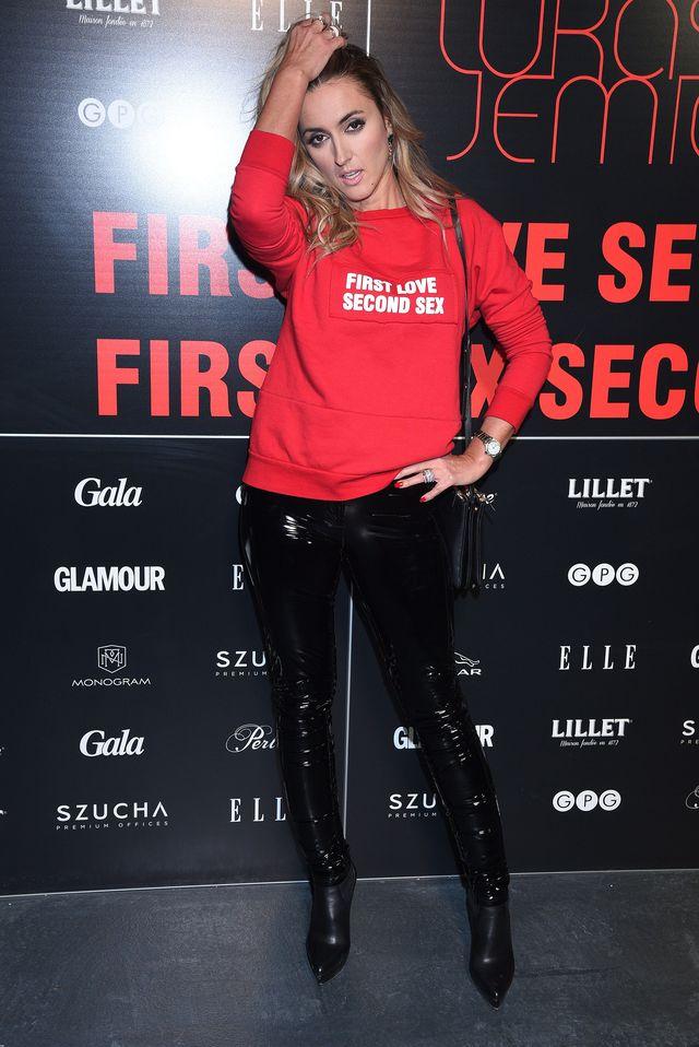 WOW! Karolina Szostak SEXY w lakierowanych spodniach (FOTO)