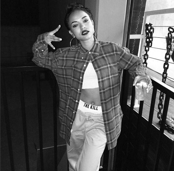 Rihanna naśladuje Karrueche Tran (FOTO)