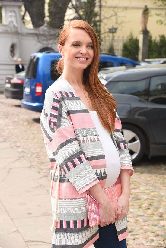 Kasia Burzyńska wygląda, jakby miała niebawem urodzić (FOTO)