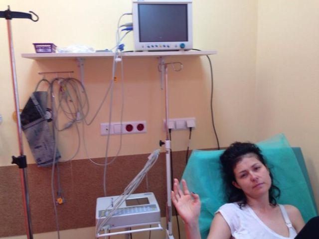 Kasia Cichopek trafiła rano do szpitala! (FOTO)