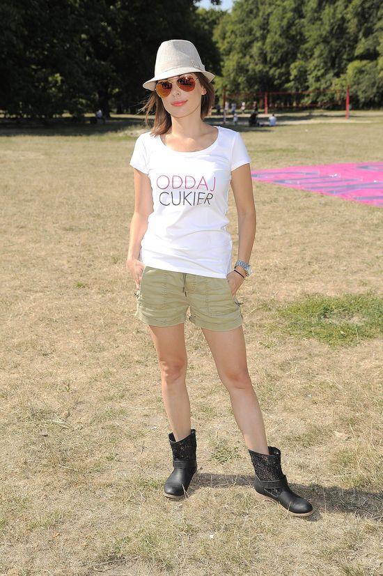Kasia Glinka pokazała zgrabne nogi (FOTO)