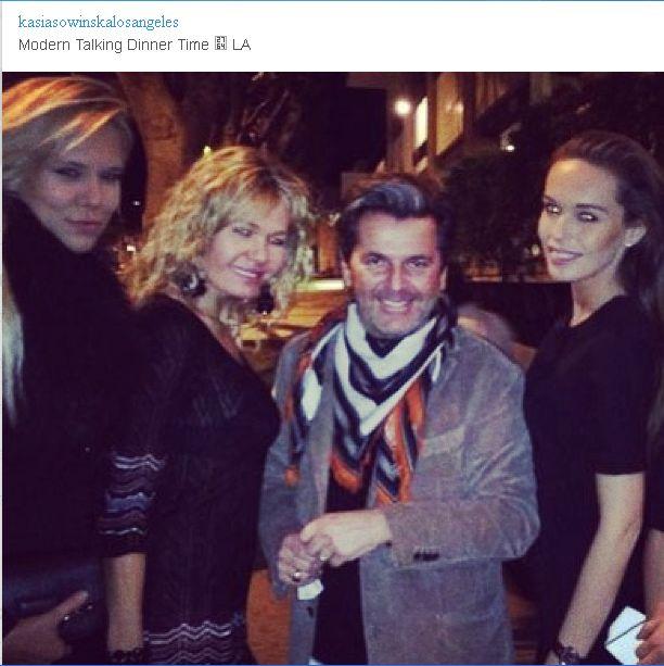 Kasia Sowińska na kolacji z gwiazdą światowej sławy (FOTO)
