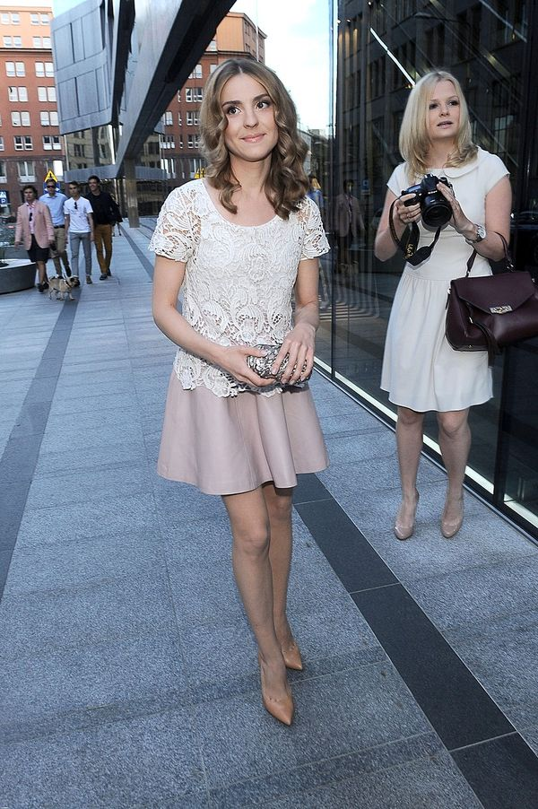 Kasia Tusk na otwarciu salonu Louis Vuitton (FOTO)