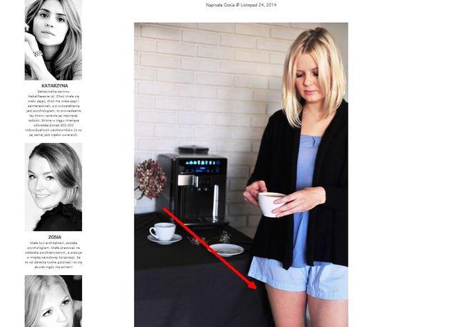 Kasia Tusk uważa, że Gosia z jej bloga jest za gruba?
