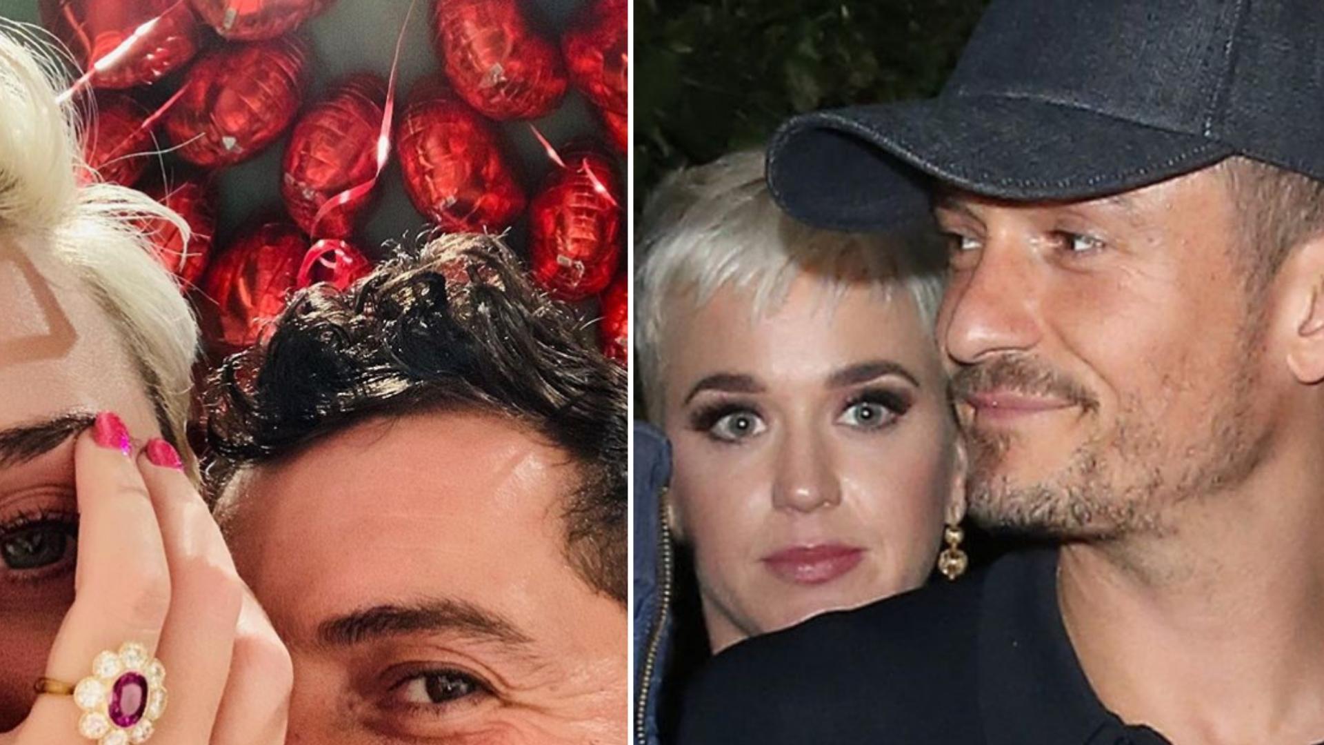 Katy Perry dostała pierścionek zaręczynowy po byłej żonie Orlanda? Miranda Kerr miała prawie IDENTYCZNY
