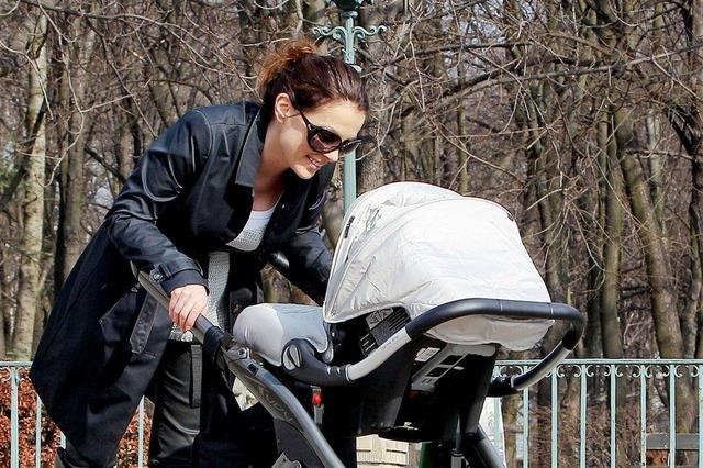 Kasia Glinka korzysta z pierwszych wiosennych dni (FOTO)