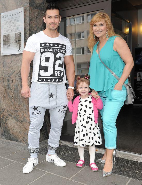 Katarzyna Skrzynecka zabrała córkę na ściankę (FOTO)