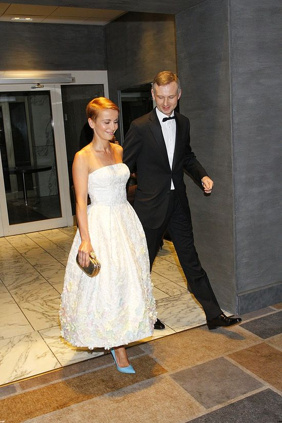 Gala Telekamery 2014 (FOTO)biała suknia