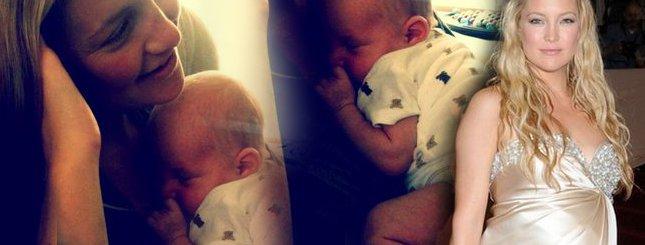 Kate Hudson z synkiem Bingiem (FOTO)