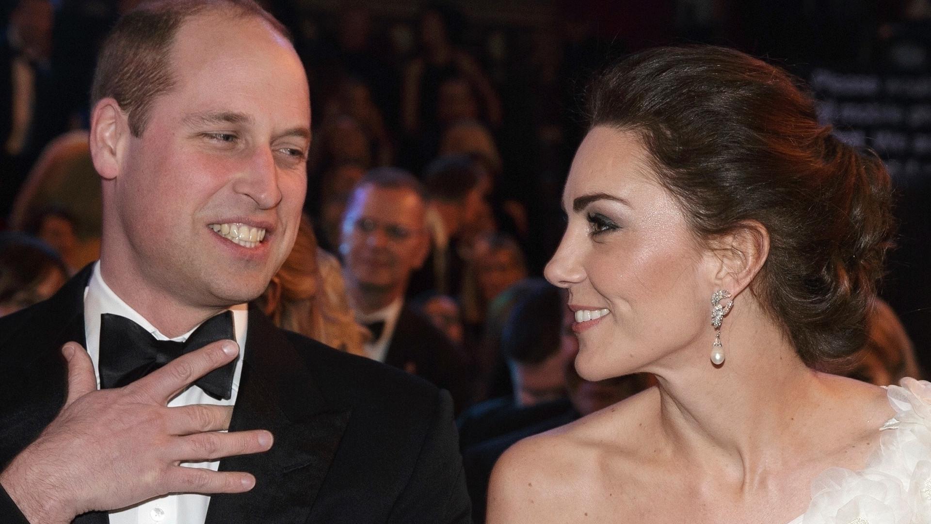 Niezręczny moment z udziałem Kate i Williama. Księżna musiała zażartować