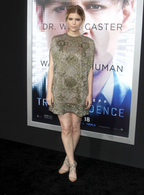 Kate Mara w nak�adkach na sutki z twarz� Kevina Spaceya