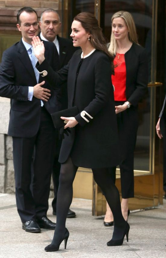 Kate Middleton promuje swoją ciążę w Nowym Jorku (FOTO)
