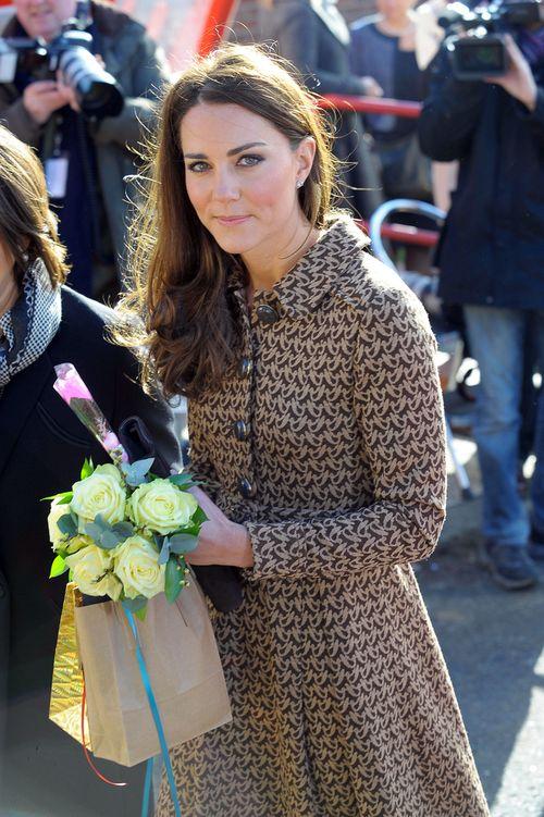 Po brzuszku Kate Middleton już nie ma śladu (FOTO)