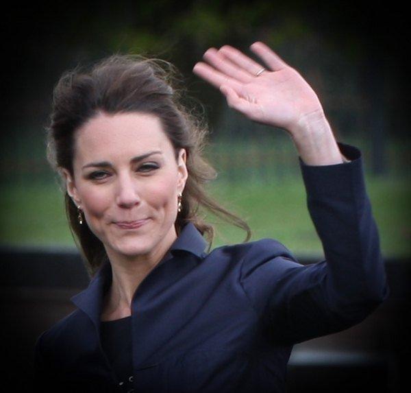 Kate Middleton znalaz�a spos�b na ci��owe md�o�ci