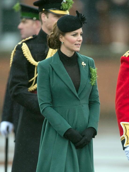 Księżna Middleton świętuje Dzień św. Patryka (FOTO)