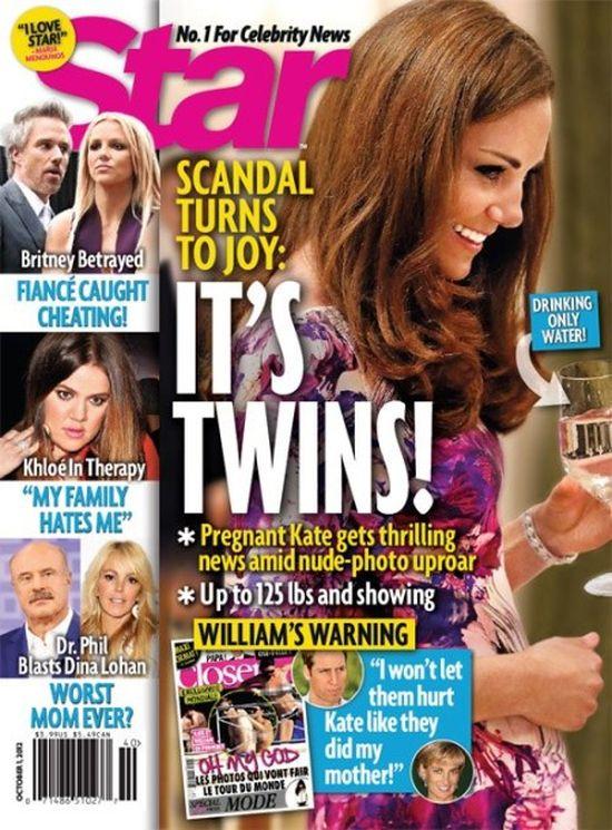 Księżta Kate urodzi bliźniaki!
