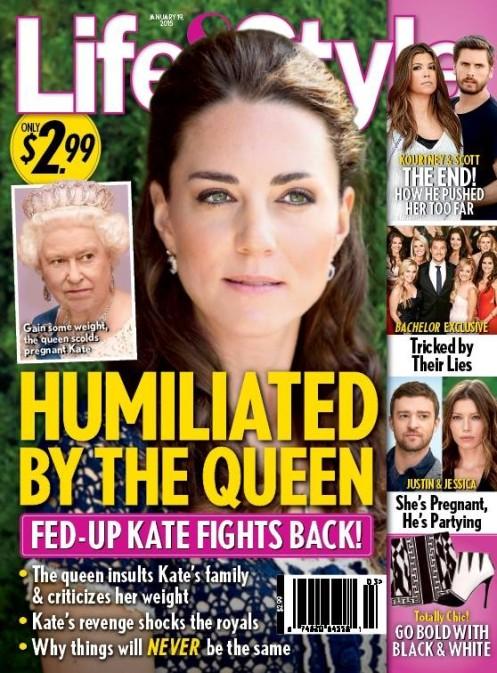 Królowa Elżbieta upokorzyła księżną Kate? (FOTO)