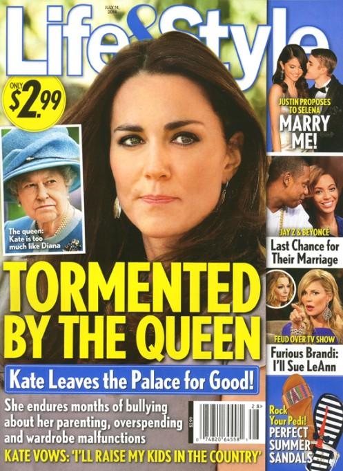 Kate Middleton toczy wojnę z królową Elżbietą II