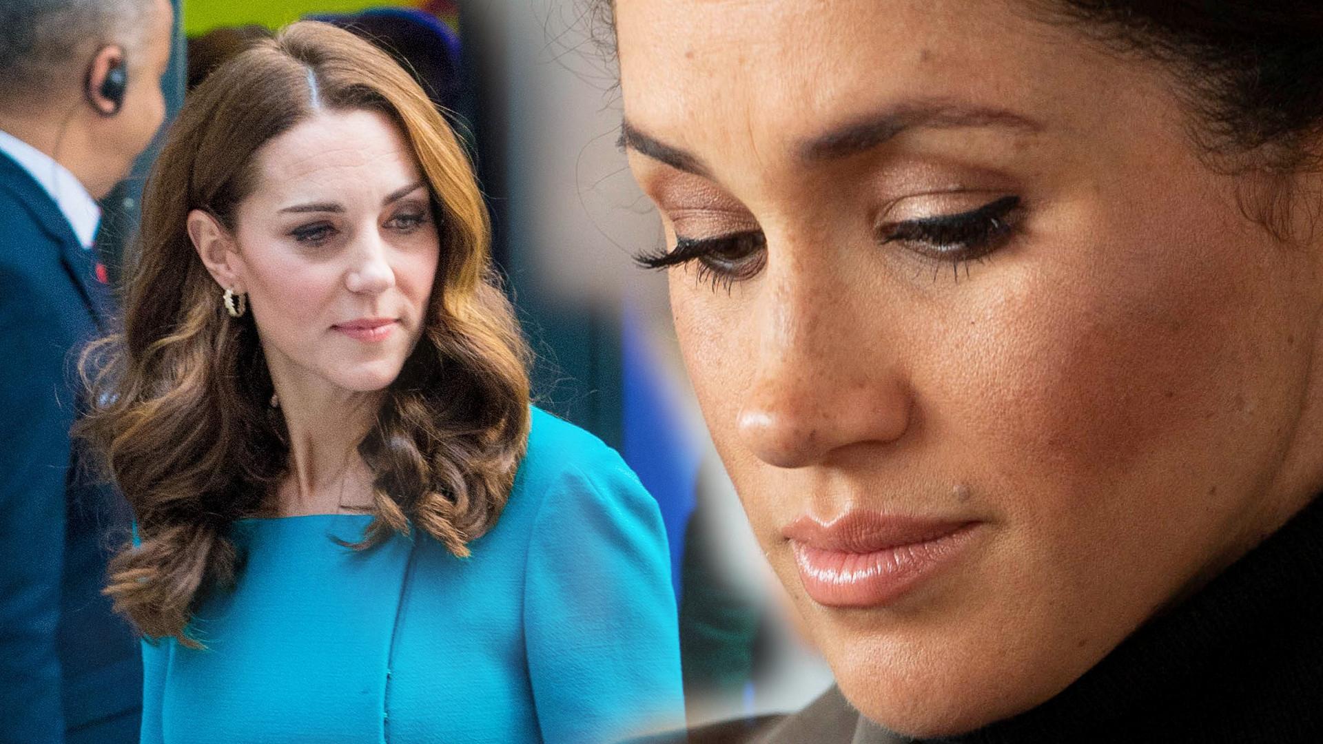 Dlaczego Kate Middleton NIE BYŁO na baby shower u Meghan Markle?