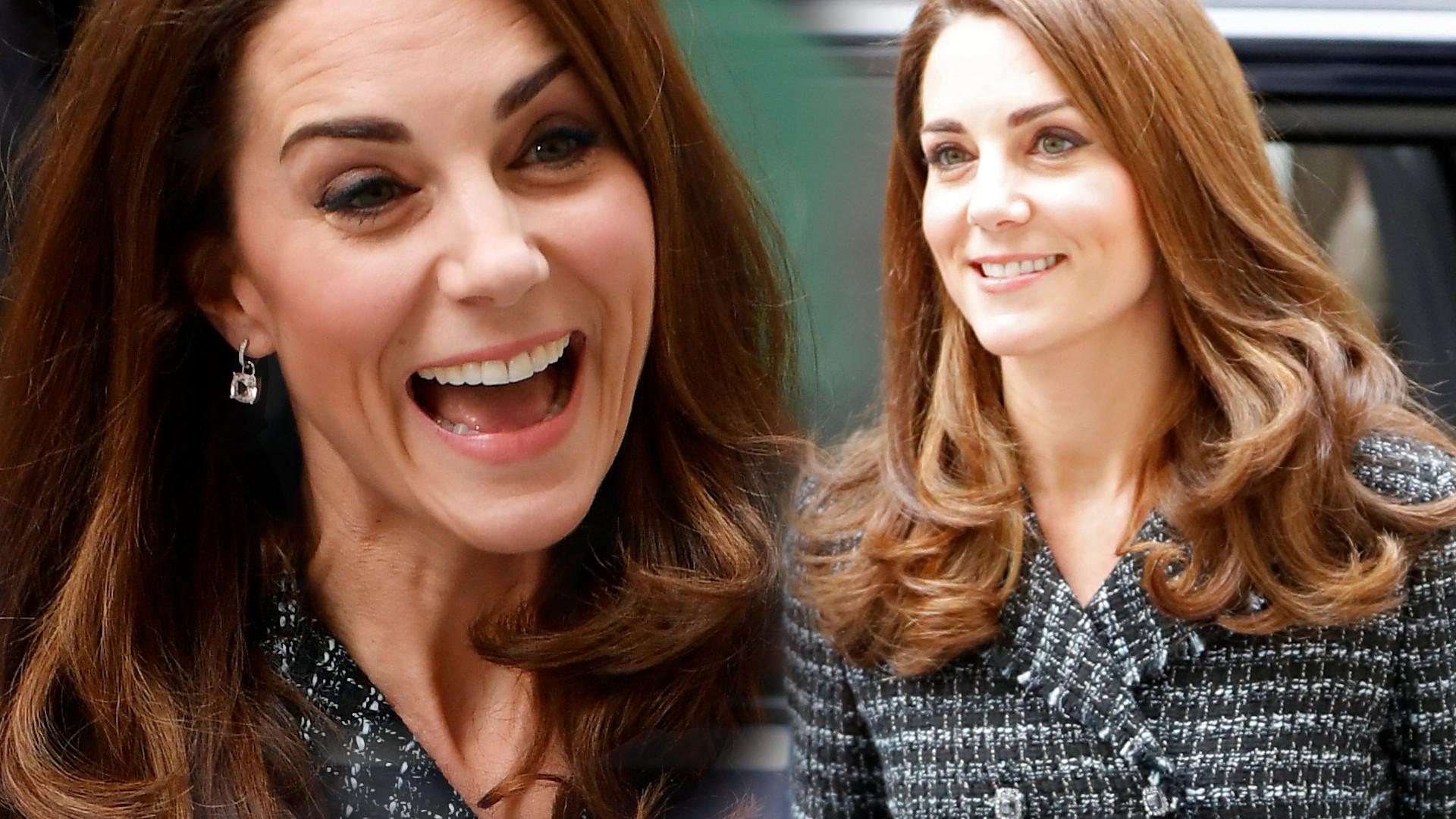 Kate Middleton jest bardzo zapracowana. Widać już u niej siwe włosy (ZDJĘCIA)